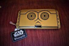 C3PO Loungefly Star Wars All around Wallet Zip New w// tags STWA0042