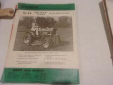 Kubota K 44 Mid Mount Mower For All B6000 Tractors