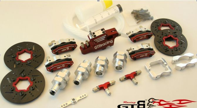 Gtb 4 - rad hydraulische bremsen set hpi baja rovan km fid gtb 5b