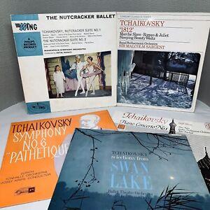 5x-Tchaikovsky-Records-Bundle-of-Classical-12-034-Vinyl-LPs-M085