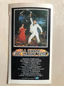 Filme & Dvds Preiswert Kaufen Poster Aufkleber Sticker 1978 La Febbre Del Sabato Sera Saturday Night Fewer Zu Den Ersten äHnlichen Produkten ZäHlen Film-fanartikel