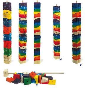 Puzzle-a-incastro-034-Torre-gigante-034-32-elementi-altezza-cm-70