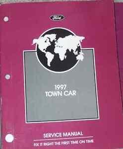 1997 lincoln town car service shop repair manual oem dealership 97 rh ebay com 1997 lincoln town car repair manual .pdf 1997 lincoln town car repair manual