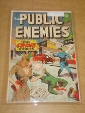 PUBLIC ENEMIES #1 FN+ (6.5) DS PUBLISHING MARCH 1948