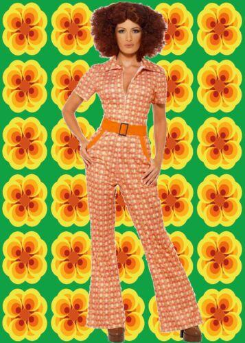 517 ✪ colpo trendy pantaloni Vestito Jumpsuit Overall authenisch Costume anni 70er