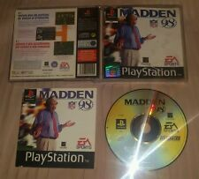 MADDEN 98 - PlayStation 1 PS1 1998 Gioco Game Play Station PSX