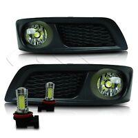 10-12 Subaru Legacy Fog Lights W/wiring Kit & High Power Cob Led Bulbs - Clear