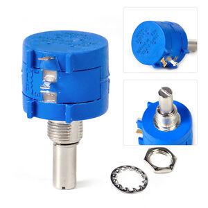 3590S-2-502L 5K Ohm BOURNS Rotary Wirewound-Precisions-Potentiometer Pot 10 T`US