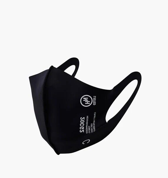 Neighborhood Guardian 2 Mask Face Covering Black Made In Japan One Size