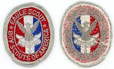 Boy Eagle Scout Uniform Rank Patch Badge BSA Merit Award Closed Beak Type 3a