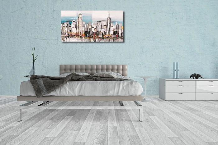 Luigi Florio: Metropolis II civière-image Gratte-ciel de l'écran villes Gratte-ciel civière-image moderne 062fa2