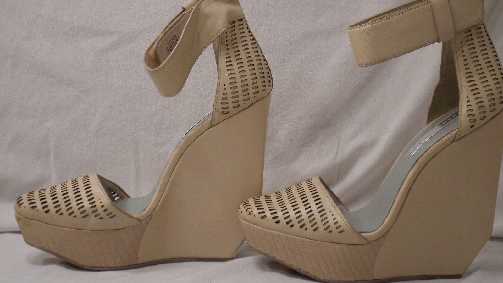 economico e alla moda BCBGMAXAZARIA 'Austin Day' Platform Platform Platform Parfait Leather Wedge Sandal donna Dimensione 6.5  elementi di novità