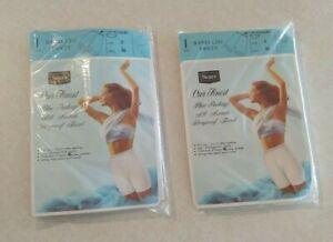 Womens Bali 3-Pair Nylon Brief Panties-Skimp Skamp-Size
