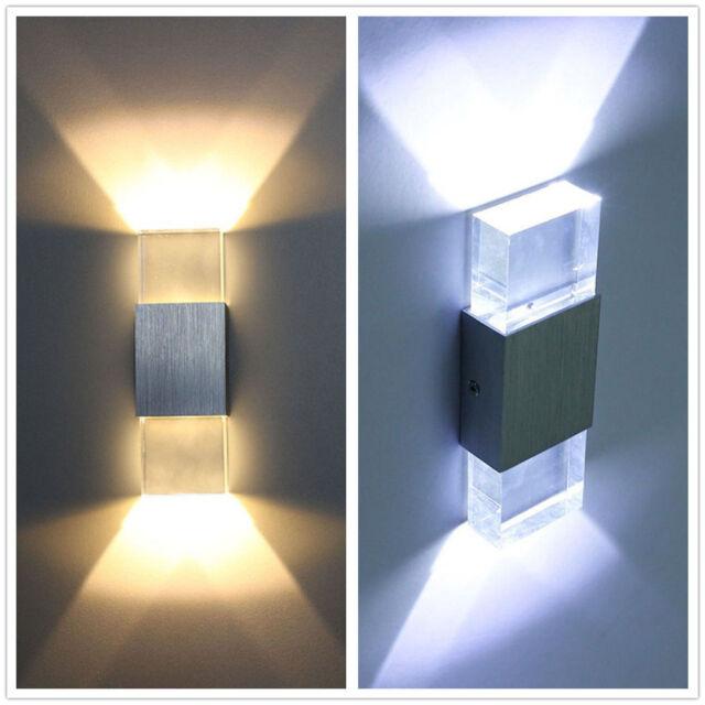 AGM 6W LED Wandlampe Wandleuchte Flurlampe Treppenlampe Deckenlampe Effektleucht