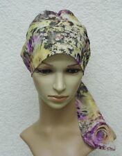 Chemo cap, tichel, head snood, surgical cap, chemo head wear, chemo bonnet