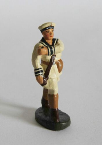 Elastolin 7 cm kaiserlicher Matrose Fahnenträger