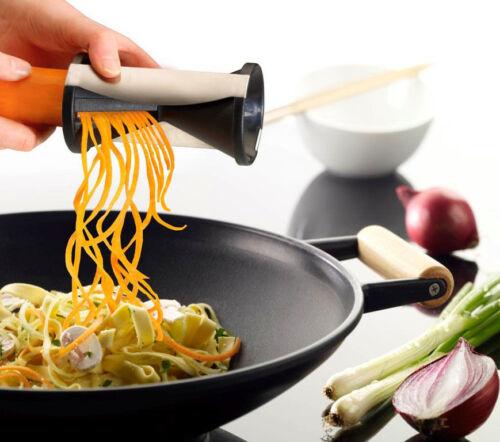 Vegetable Spiral Slicer Spirelli Kitchen Spiralizer Julienne Cutter Mandolin