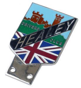 Austin Healey Warwick car grille badge