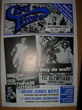CARD TIMES MAGAZINE FORMERLY CIGARETTE CARD MONTHLY No 127 NOVEMBER 2000