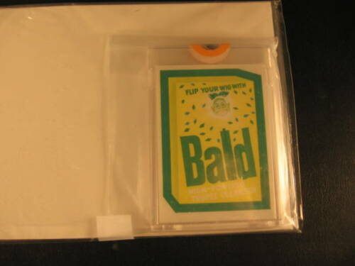 1973 Topps Wacky Packages Series 4 Color Proof Bald