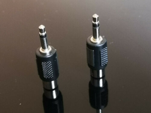 2x 3.5mm Male Stereo To RCA AV Female Stereo Audio Connector Adaptor Convertor