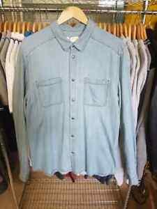 1-chemise-manches-longues-homme-ELEVEN-PARIS-VICK-MEN-taille-XL-NEUF