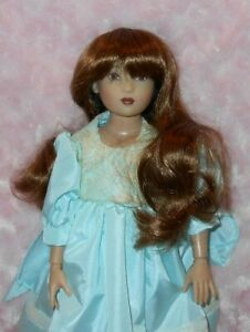 Monique Doll Wig size 4 ~ New in Box ~ DENISE ~ Dark Brown ~ Beautiful!