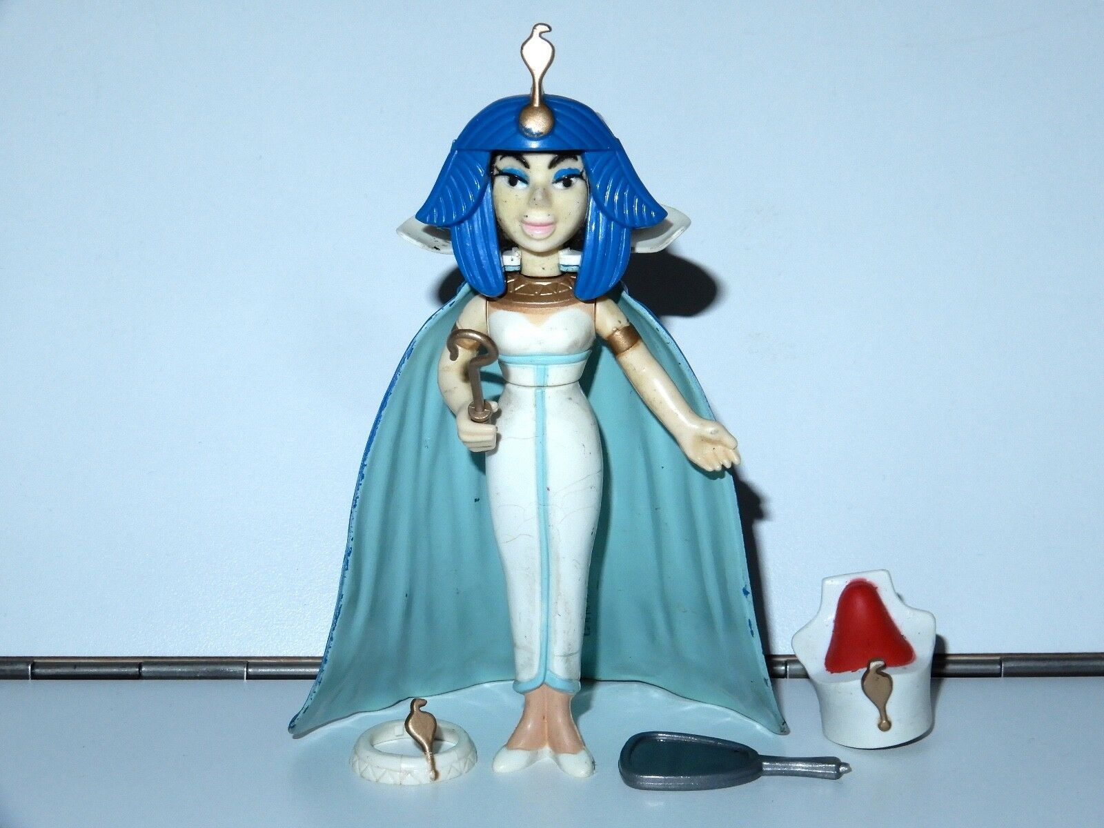 ASTERIX PLAY ACTION FIGURES 6223 CLEOPATRA 100% COMPLETE 1980s CEJI TOYCLOUD