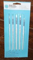 Nip 5pc White Nylon Bristle Detailing Brush Set Item 32247 Free Shipping