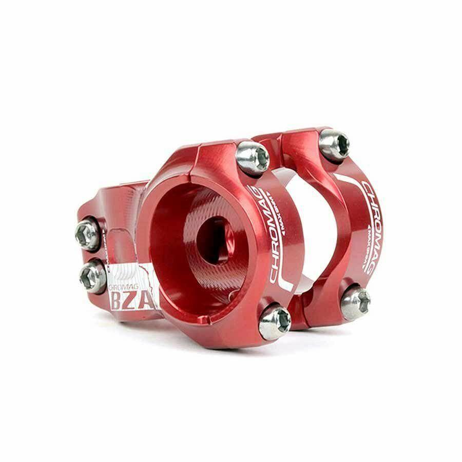 Chromag BZA vástago 1-1 8  Rojo 35mm X 35mm (35.0mm) abrazadera de barra moto