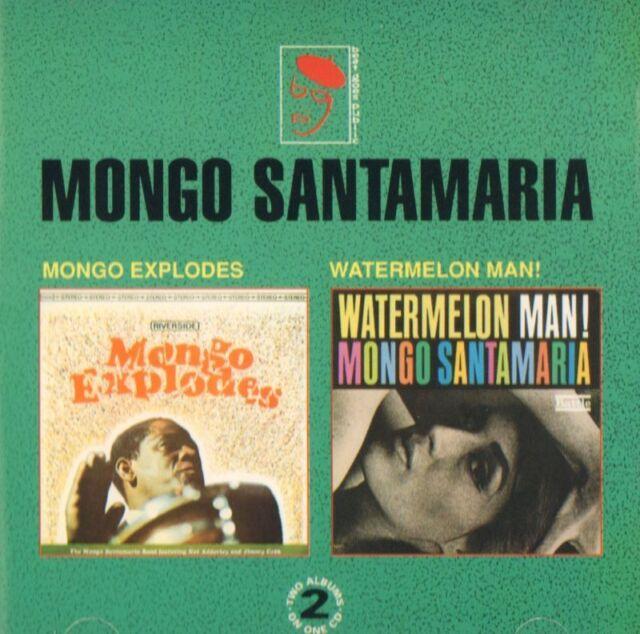 Mongo Santamaria(CD Album)Mongo Explodes / Watermelon Man!-BGP-CDBGPD 0-