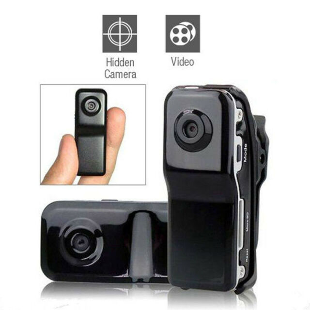 MD80 Mini DV Camera Hidden DVR Video Recorder Spy Webcam Sports Camcorder Black