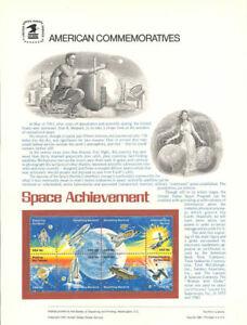 143-18c-Space-Achievement-1912-1919-USPS-Commemorative-Stamp-Panel