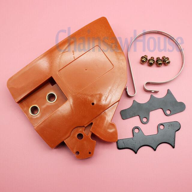 Chain Brake Band Cover For Husqvarna 136 137 141 141 w//Felling Dog Screws Kit