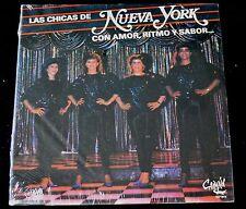 LAS CHICAS NE NUEVA YORK - CON AMOR, RITMO Y SABOR - CAIMAN CLP 9018- SEALED LP
