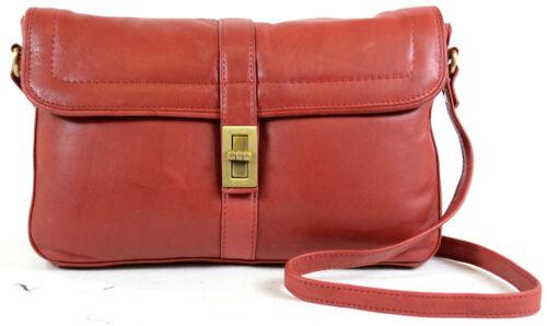 draaigreep Dames met rood Soft crossbody schoudertas slot lederen tas Premium rn0fwBqvr