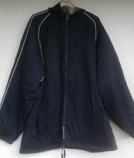 EUC Mens Champion XXXL Coat Navy Hooded Jacket Nylon Lightweight All Categories
