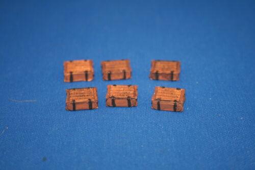 Peddinghaus  1//35 3190 6 Munitions-Weidenkörbe für die lFH 18 Munition