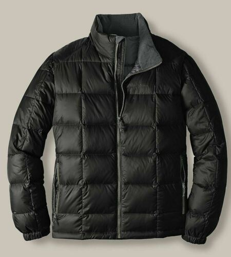 Eddie Bauer Homme Northwind 550FP Down manteau d/'hiver 2XL XXL Noir