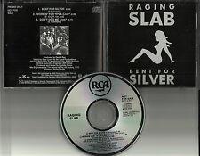 RAGING SLAB Bent for Silver w/ 2 LIVE TRX PROMO DJ CD Single LYNYRD SKYNYRD trk