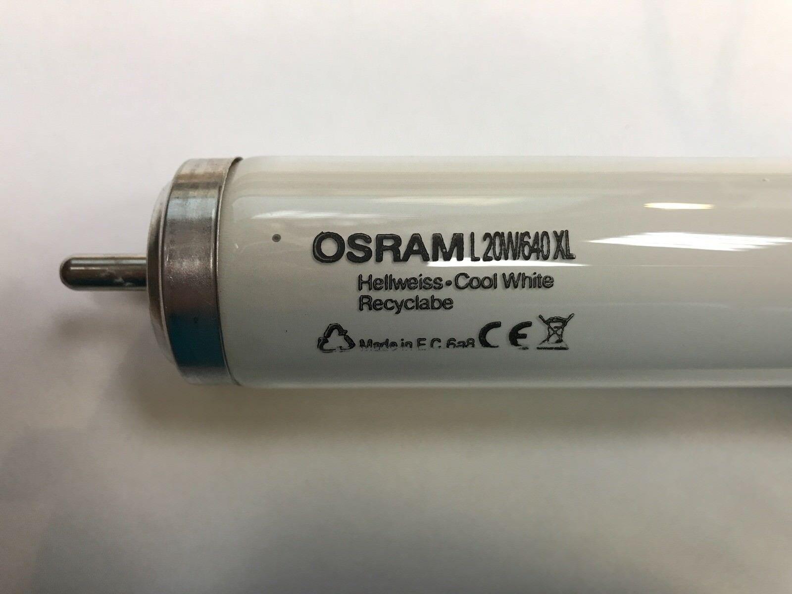 OSRAM Lampada a fluorescenza l20w 640 X-TL-X XL fa6 fa6 fa6 4000k t12 diametro 38mm 51007e