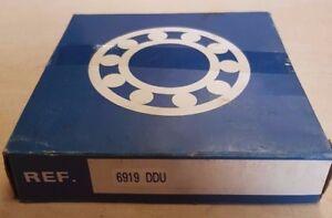 NSK Bearings 6919 DDU Sealed Ball Bearing 95 x 130 x 18