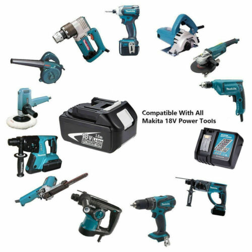 BL1830 FOR Makita 3.0 Ah 18V Lithium-Ion LXT Capacity Battery BL1850 or Charger