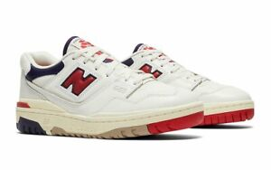 Aime Leon Dore x New Balance 550 White Navy Red Size 9 2021 ALD DS!