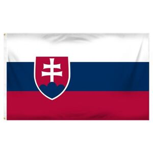3x5-Slovakia-Slovak-Republic-Flag-3-039-x5-039-Banner-Grommets-Fade-Resistant