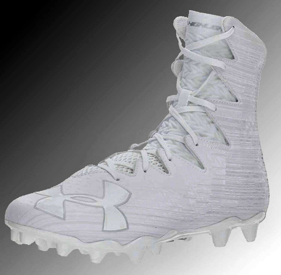 Under Armour UA Highlight MC Lacrosse Football Cleats Cleats Cleats 1297358 100 Uomo U.S. Dimensiones 2310e0