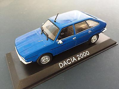 "DIE CAST /"" DACIA 2000 /"" LEGENDARY CARS SCALA 1//43"