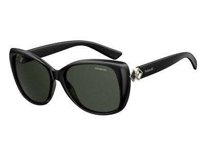 Occhiali Da Sole Polaroid Polarizzati Pld 4049/s Nero Grigio Donna 807/m9