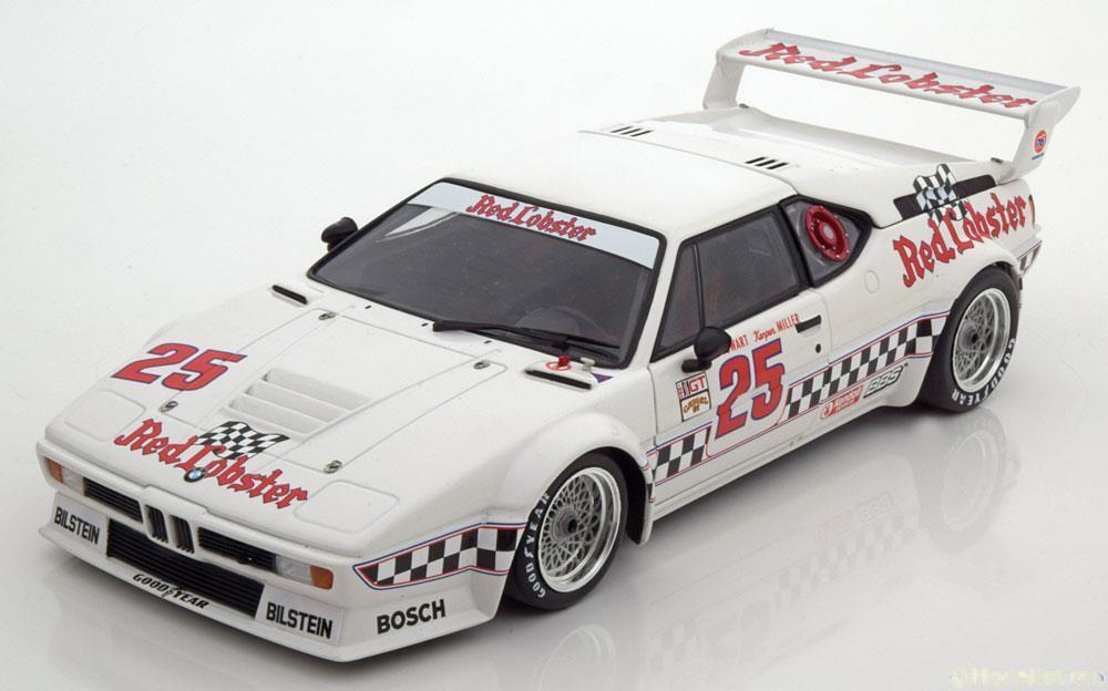 1:18 Minichamps BMW m1 Class Winner Riverside Cowart/Miller 1981