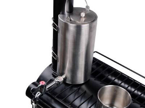 Portable Cooking Military Camping Wood Cooking Portable Stove Tent Heater W/ Water Kettle Teapot faa87f